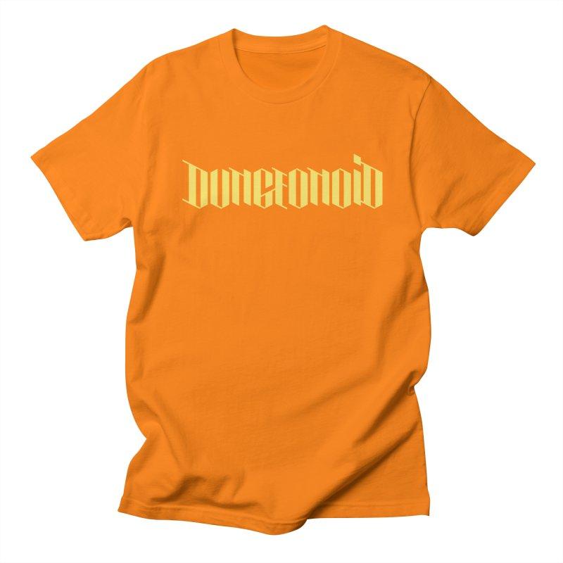 Dungeonoid (wordmark) Men's Regular T-Shirt by clavcity's Shop