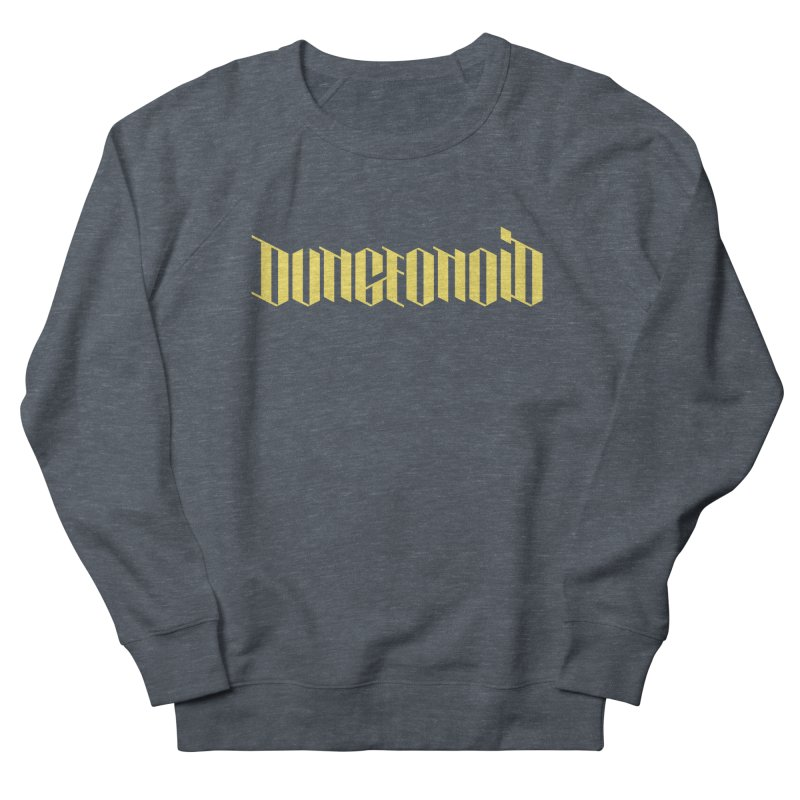 Dungeonoid (wordmark) Women's French Terry Sweatshirt by clavcity's Shop