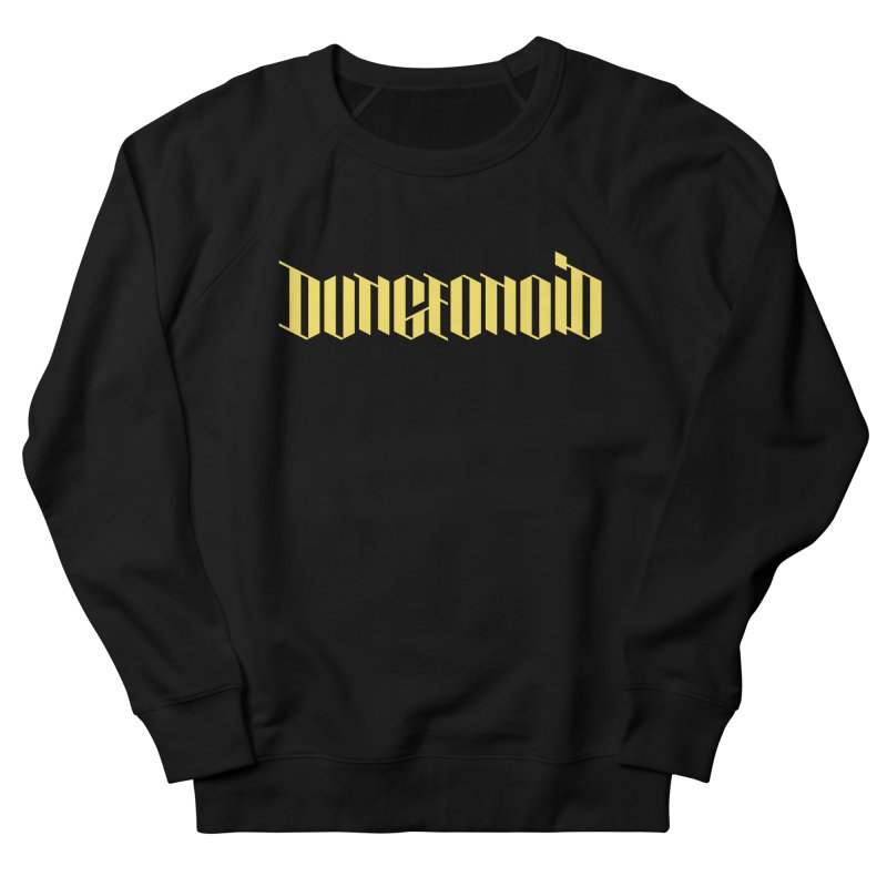 Dungeonoid (wordmark) Men's French Terry Sweatshirt by clavcity's Shop