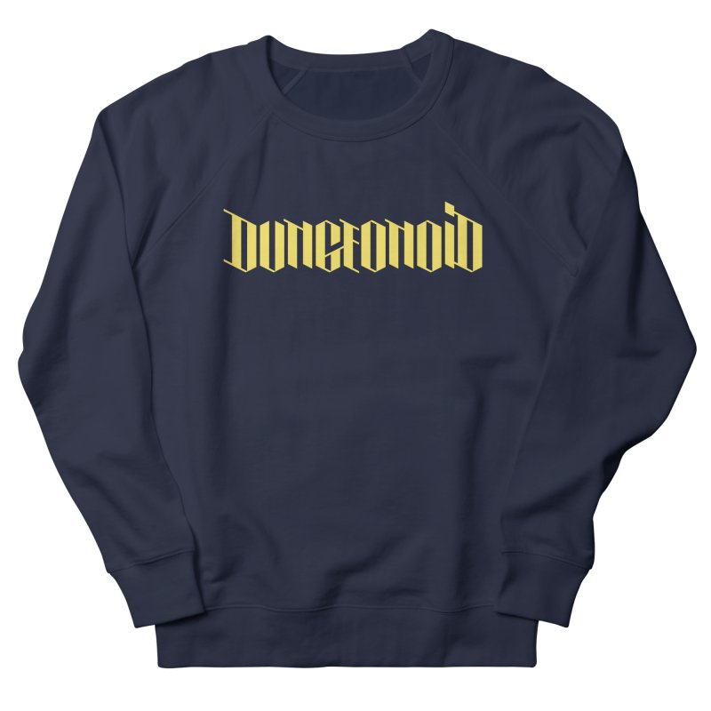Dungeonoid (wordmark) Men's French Terry Sweatshirt by clavcity's Shop