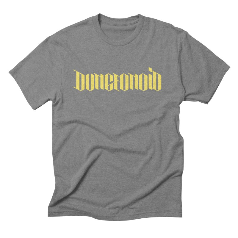 Dungeonoid (wordmark) Men's Triblend T-Shirt by clavcity's Shop