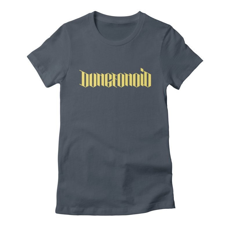 Dungeonoid (wordmark) Women's Fitted T-Shirt by clavcity's Shop