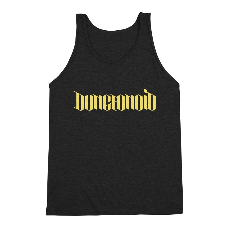 Dungeonoid (wordmark) Men's Triblend Tank by clavcity's Shop