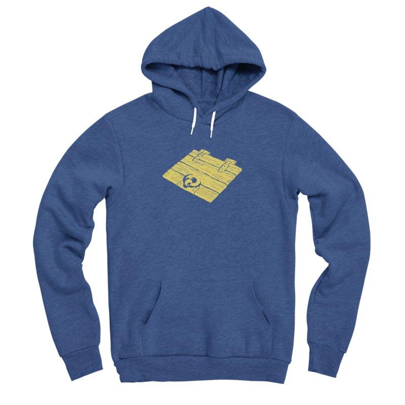 Dungeonoid (trap door icon) Men's Sponge Fleece Pullover Hoody by clavcity's Shop