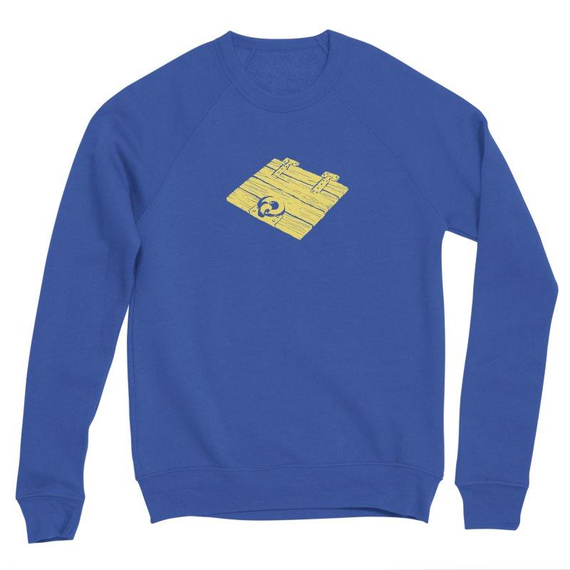 Dungeonoid (trap door icon) Men's Sponge Fleece Sweatshirt by clavcity's Shop