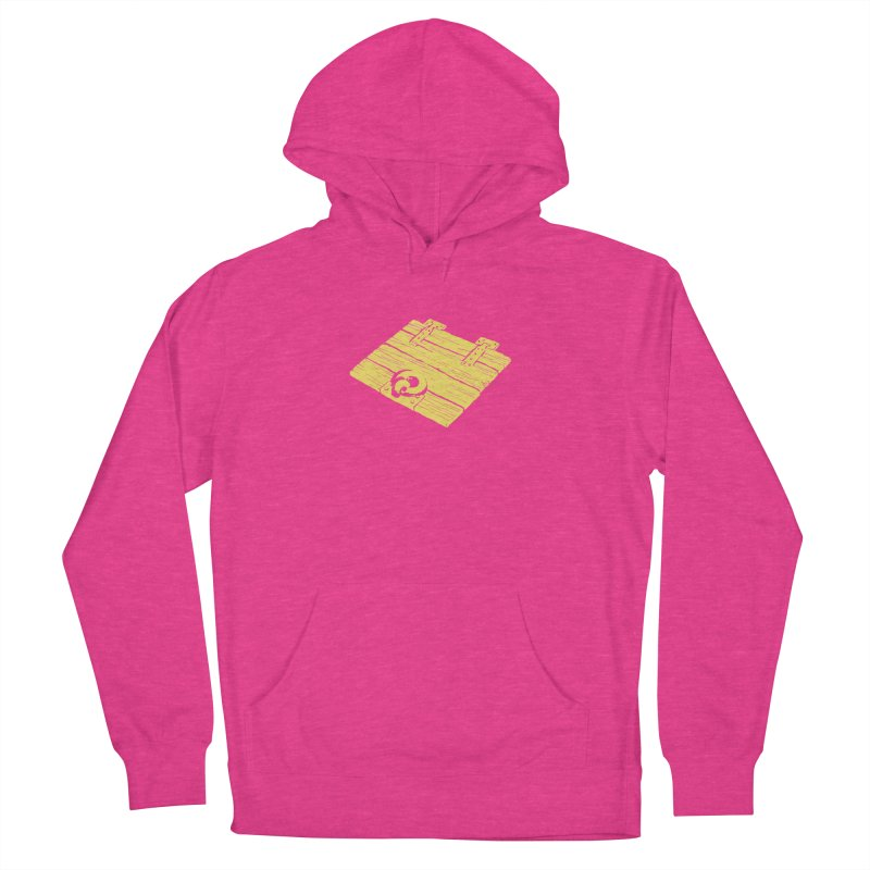Dungeonoid (trap door icon) Women's French Terry Pullover Hoody by clavcity's Shop