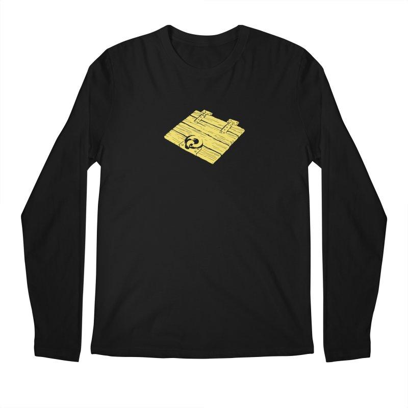 Dungeonoid (trap door icon) Men's Regular Longsleeve T-Shirt by clavcity's Shop