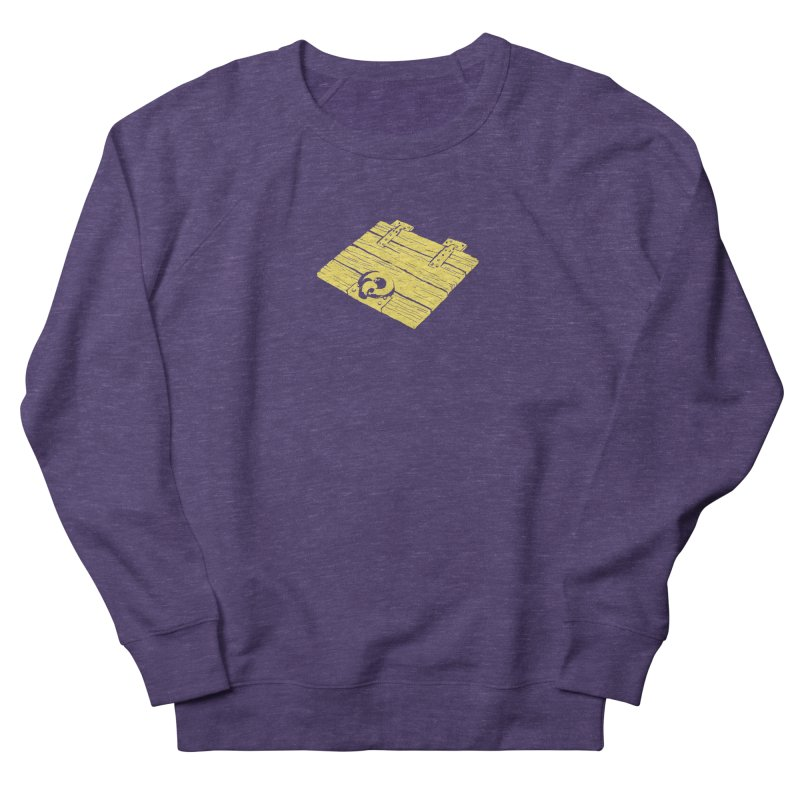 Dungeonoid (trap door icon) Women's French Terry Sweatshirt by clavcity's Shop