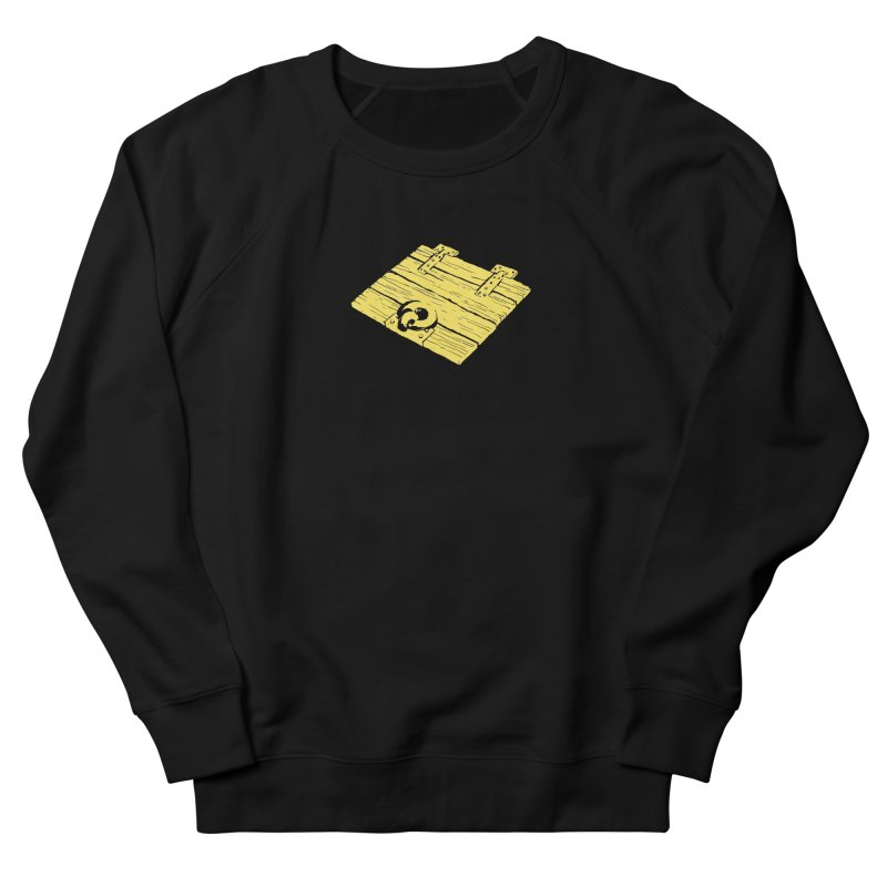 Dungeonoid (trap door icon) Men's French Terry Sweatshirt by clavcity's Shop