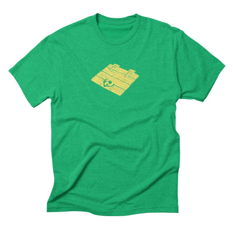 Dungeonoid (trap door icon) Men's Triblend T-Shirt by clavcity's Shop