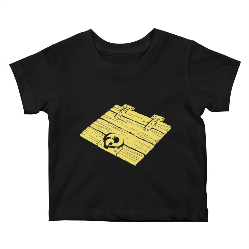 Dungeonoid (trap door icon) Kids Baby T-Shirt by clavcity's Shop