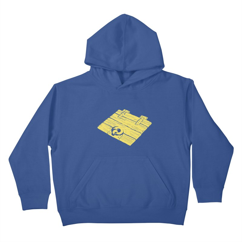 Dungeonoid (trap door icon) Kids Pullover Hoody by clavcity's Shop