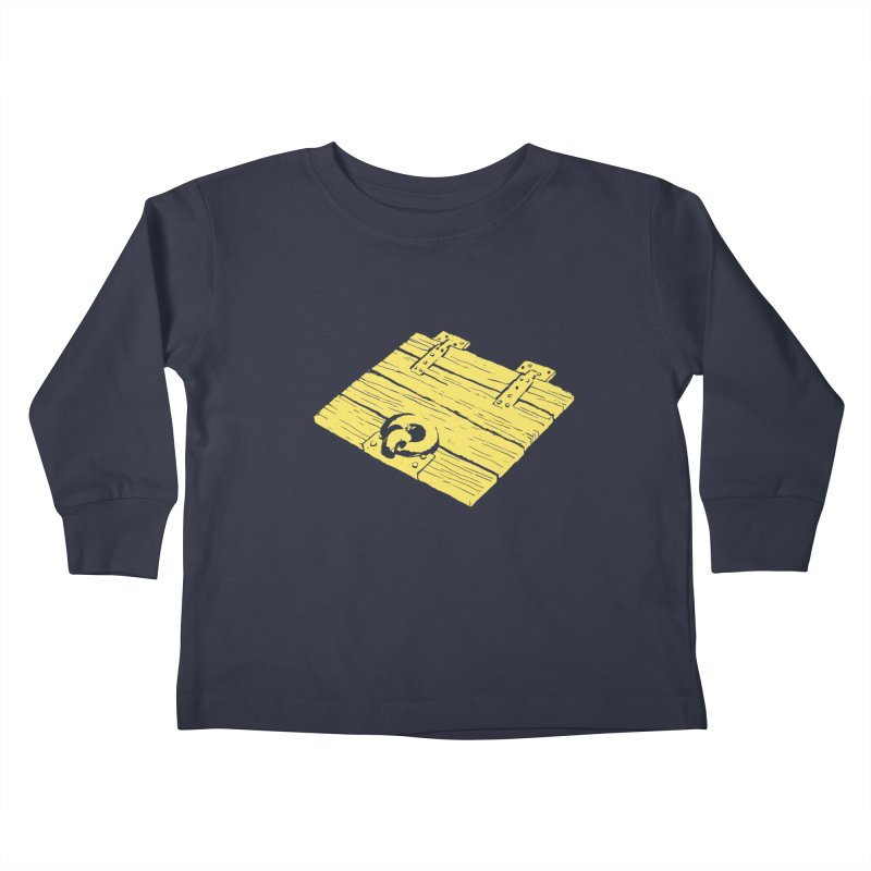 Dungeonoid (trap door icon) Kids Toddler Longsleeve T-Shirt by clavcity's Shop