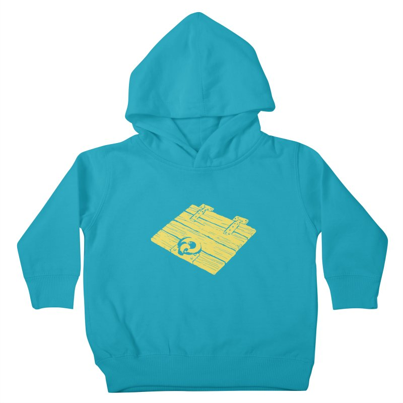 Dungeonoid (trap door icon) Kids Toddler Pullover Hoody by clavcity's Shop