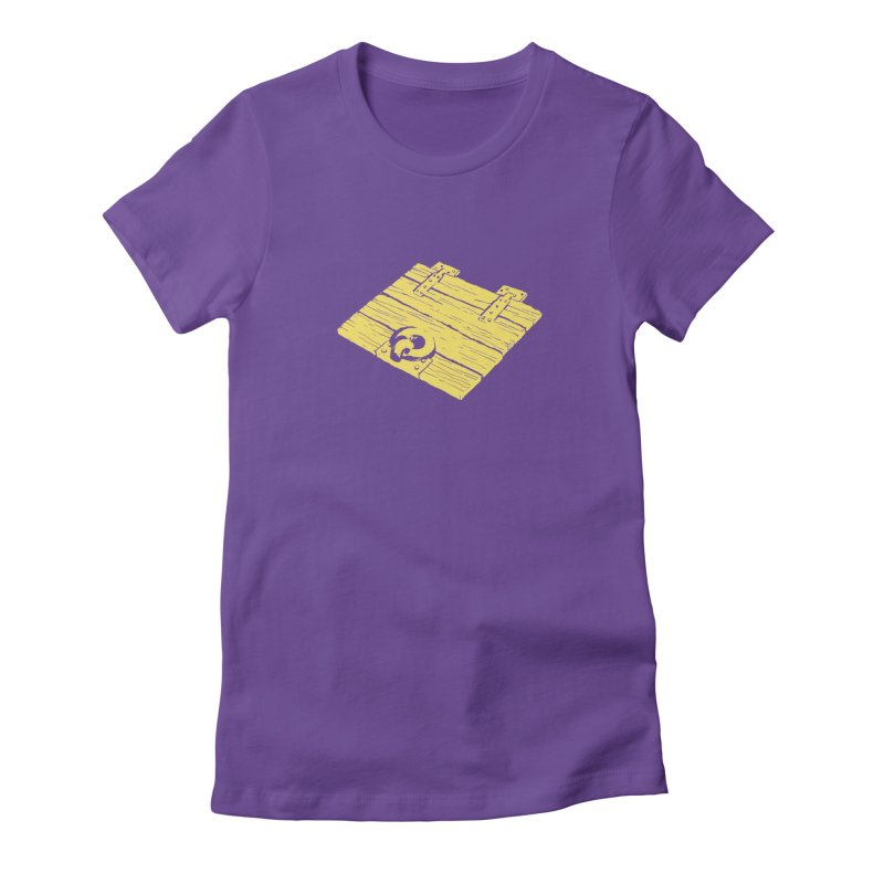 Dungeonoid (trap door icon) Women's Fitted T-Shirt by clavcity's Shop