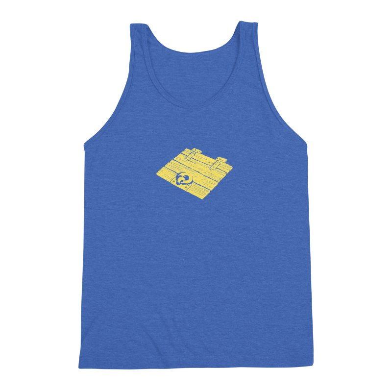 Dungeonoid (trap door icon) Men's Triblend Tank by clavcity's Shop