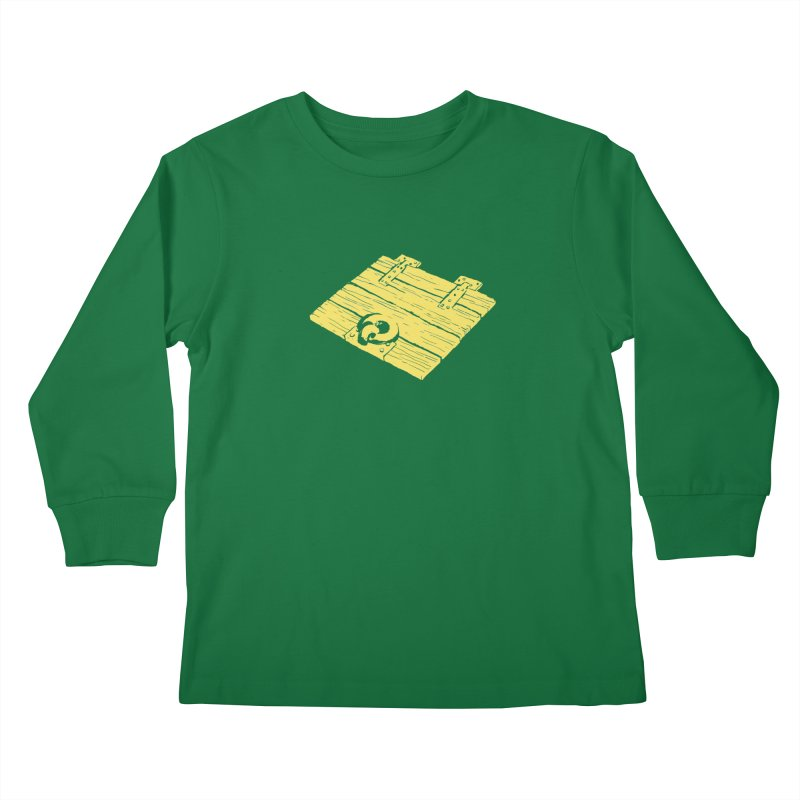 Dungeonoid (trap door icon) Kids Longsleeve T-Shirt by clavcity's Shop