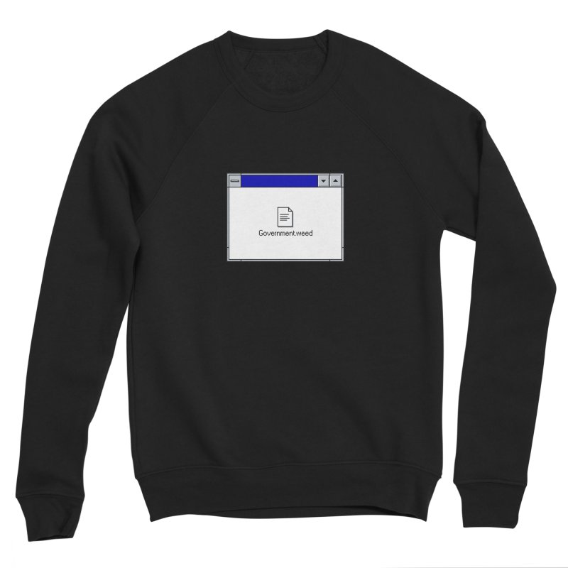 Government.weed Men's Sponge Fleece Sweatshirt by clavcity's Shop