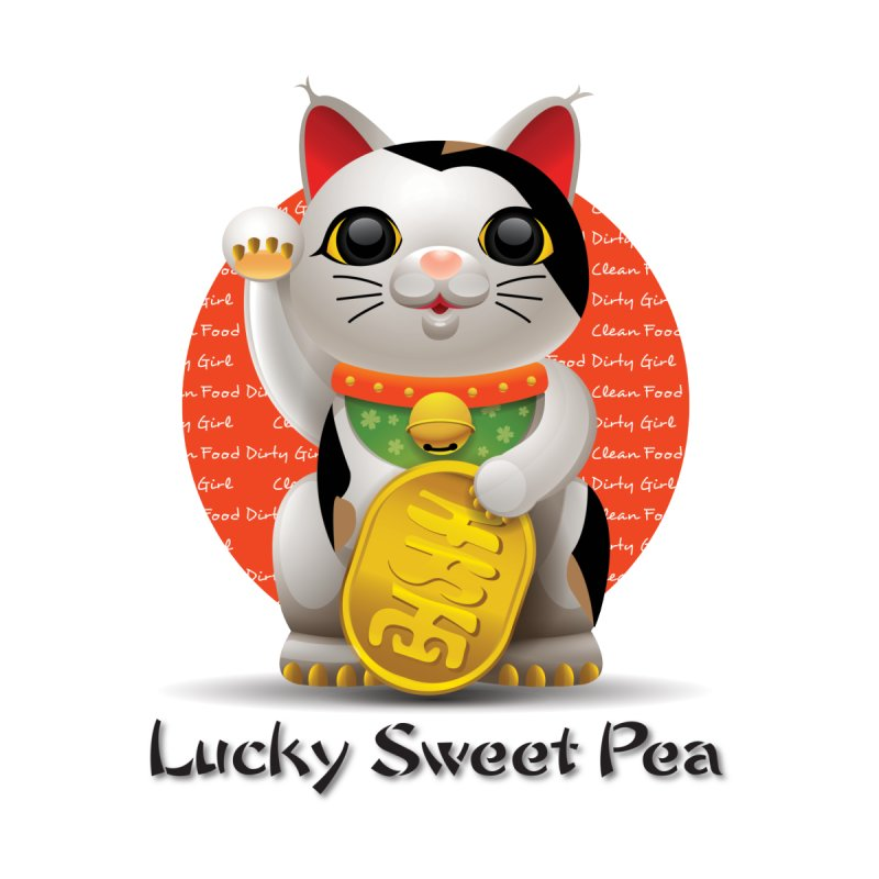 Lucky Sweet Pea - Molly & Luanne's Cat by Clean Food Dirty Girl's Official Merch