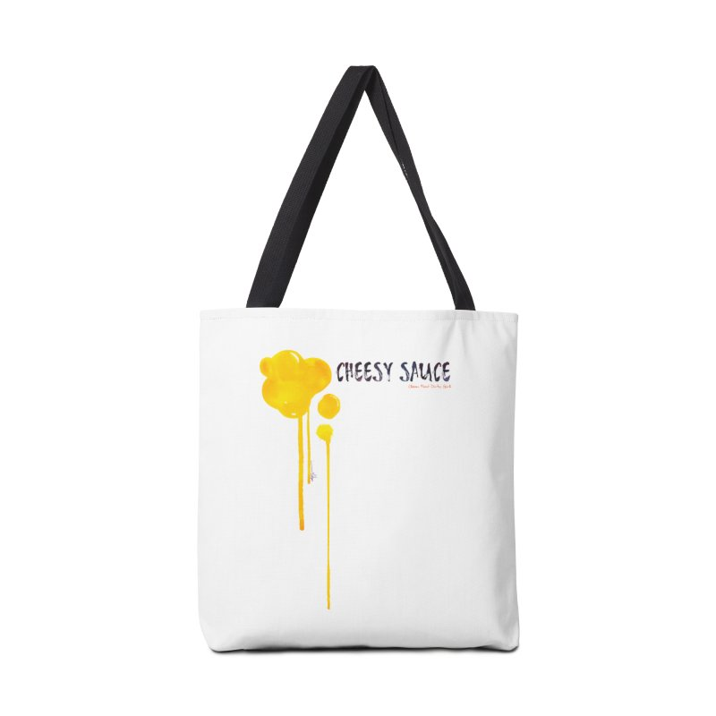 Cheesy Sauce  Accessories Bag by Clean Food Dirty Girl's Merch