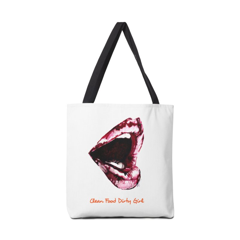 Hungry Mouth Accessories Bag by Clean Food Dirty Girl's Merch