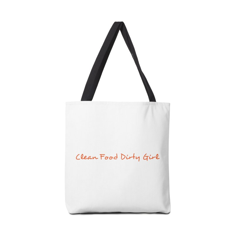 Clean Food Dirty Girl Official Logo Accessories Bag by Clean Food Dirty Girl's Merch