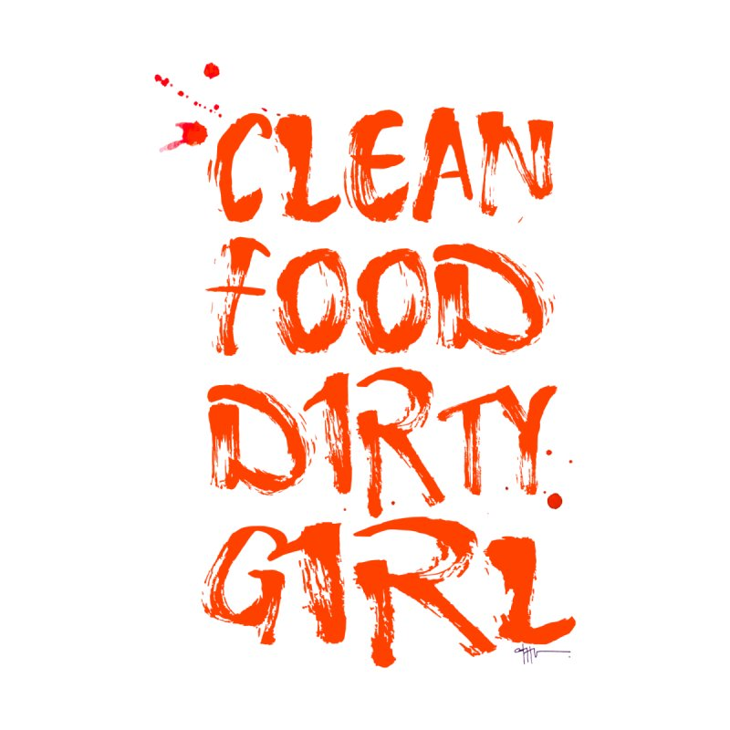 Large CFDG Text by Clean Food Dirty Girl's Merch