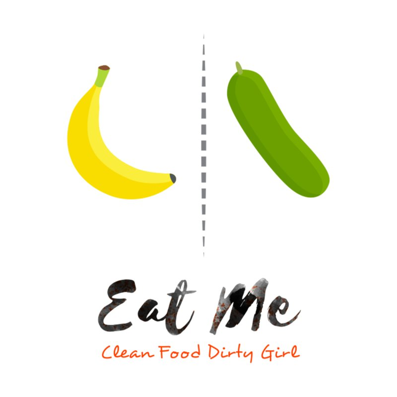 Banana & Cucumber In Bed by Clean Food Dirty Girl's Official Merch