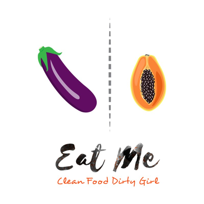 Eggplant and Papaya In Bed by Clean Food Dirty Girl's Official Merch