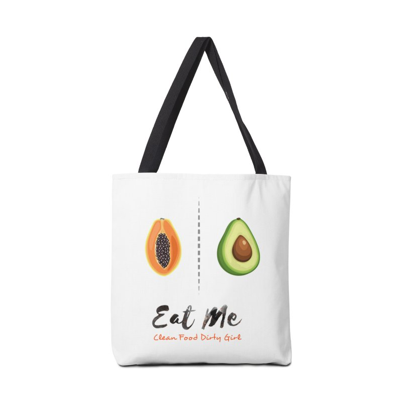 Papaya and Avocado In Bed Accessories Tote Bag Bag by Clean Food Dirty Girl's Official Merch