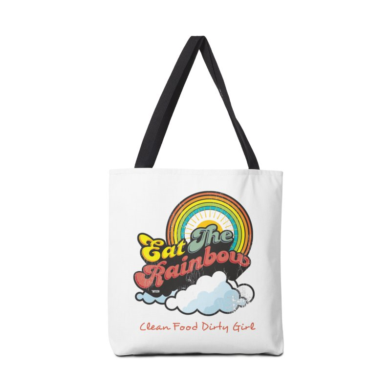 Eat The Rainbow Accessories Tote Bag Bag by Clean Food Dirty Girl's Official Merch