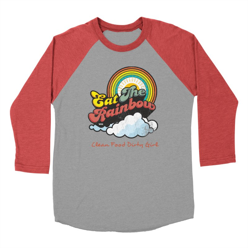 Eat The Rainbow Women's Longsleeve T-Shirt by Clean Food Dirty Girl's Official Merch