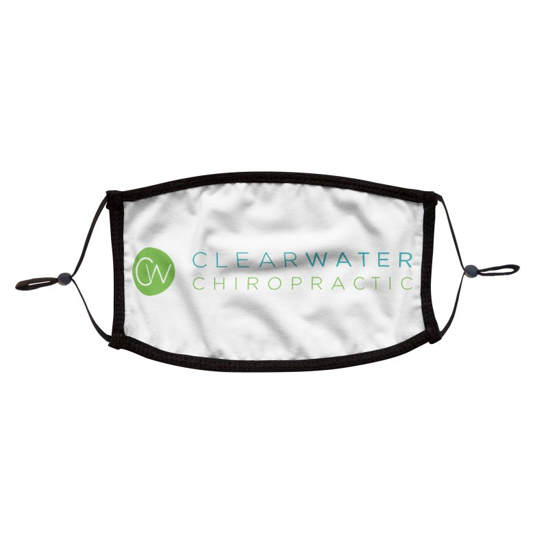 logo Accessories Face Mask by Clearwater Chiropractic Gear