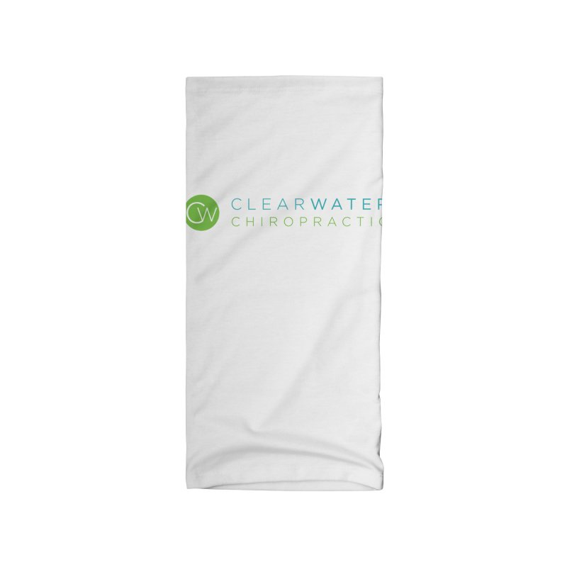 logo Accessories Neck Gaiter by Clearwater Chiropractic Gear