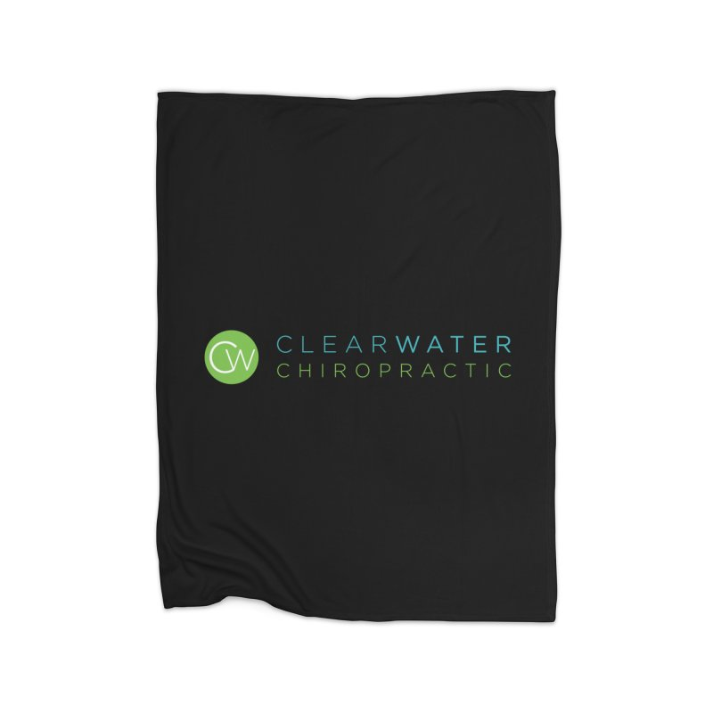 logo Home Blanket by Clearwater Chiropractic Gear