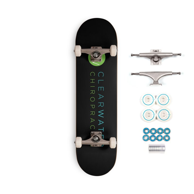 logo Accessories Skateboard by Clearwater Chiropractic Gear