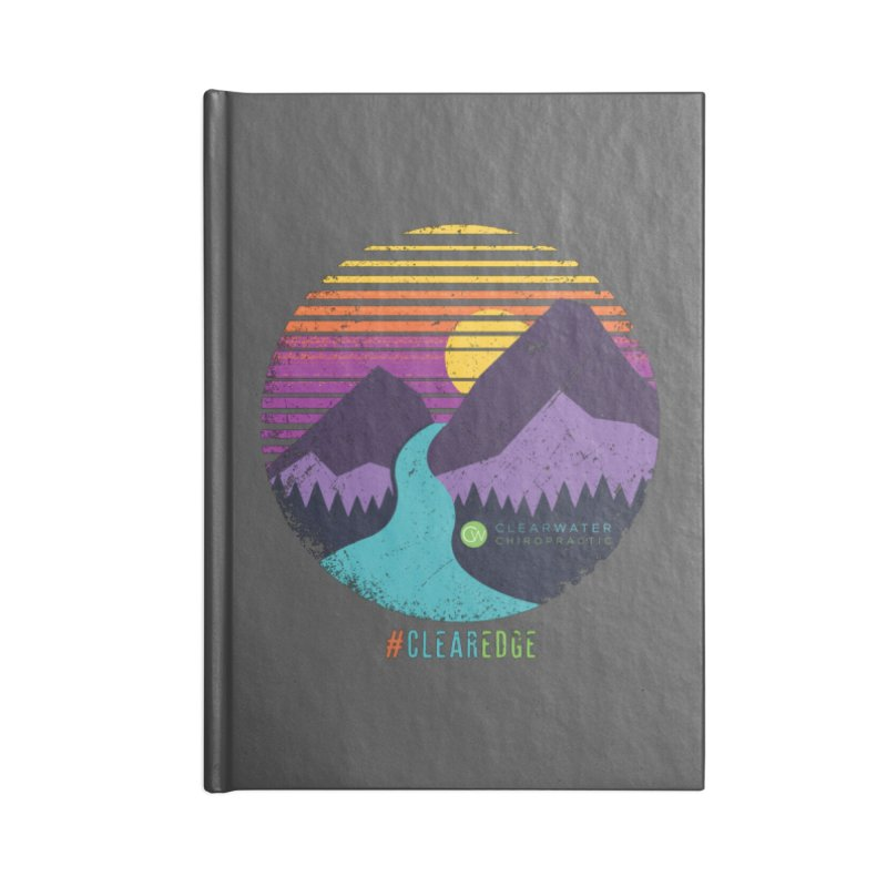 You Can Climb Mountains Accessories Blank Journal Notebook by Clearwater Chiropractic Gear