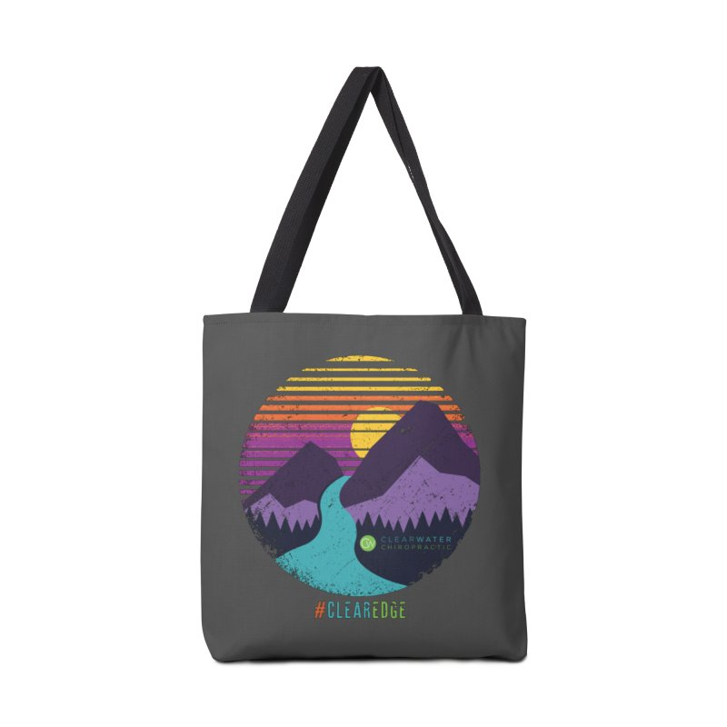 You Can Climb Mountains Accessories Tote Bag Bag by Clearwater Chiropractic Gear