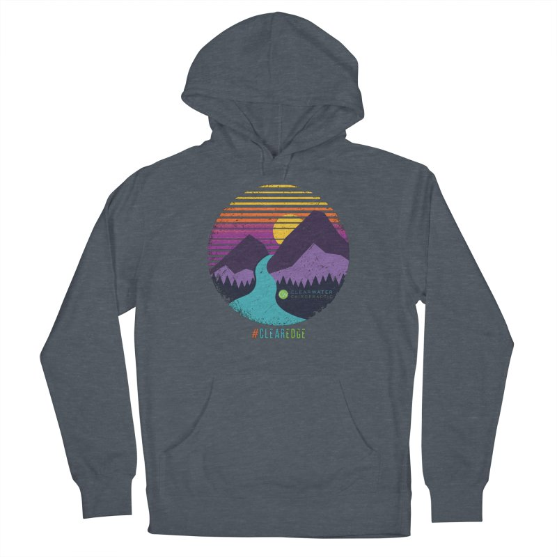 You Can Climb Mountains Men's Pullover Hoody by Clearwater Chiropractic Gear