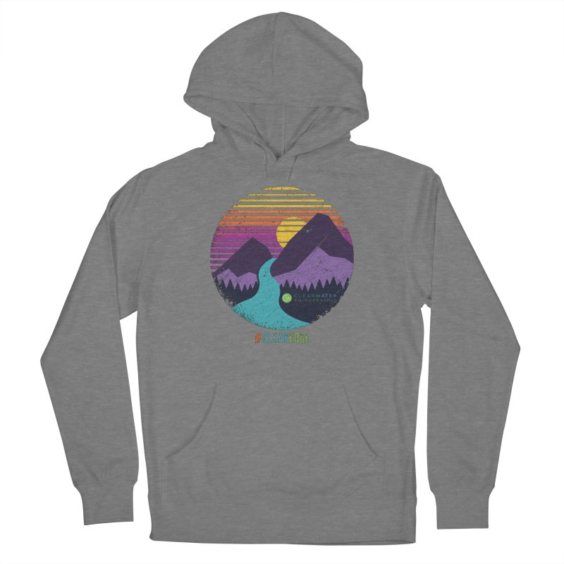 You Can Climb Mountains Women's Pullover Hoody by Clearwater Chiropractic Gear