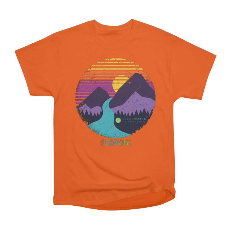 You Can Climb Mountains Men's T-Shirt by Clearwater Chiropractic Gear