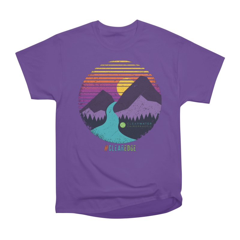 You Can Climb Mountains Men's Heavyweight T-Shirt by Clearwater Chiropractic Gear