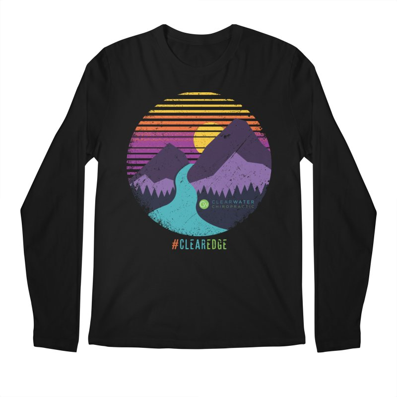 You Can Climb Mountains Men's Regular Longsleeve T-Shirt by Clearwater Chiropractic Gear