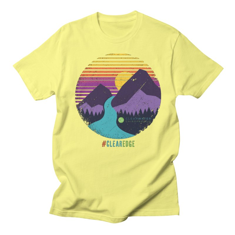You Can Climb Mountains Men's Regular T-Shirt by Clearwater Chiropractic Gear