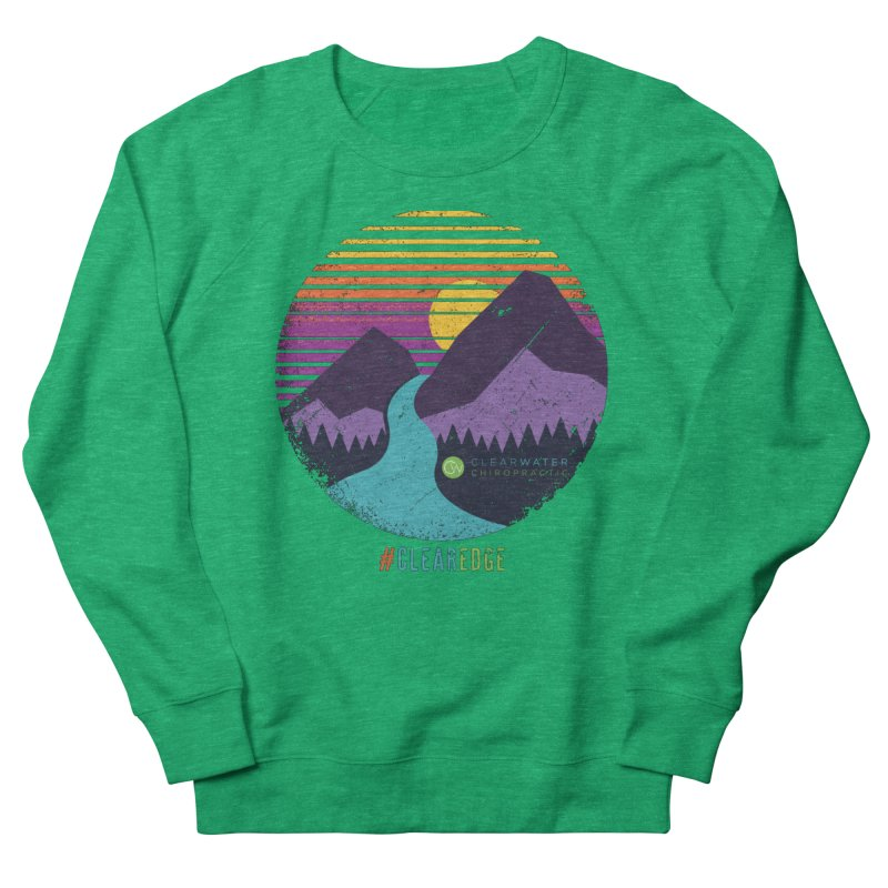 You Can Climb Mountains Men's Sweatshirt by Clearwater Chiropractic Gear