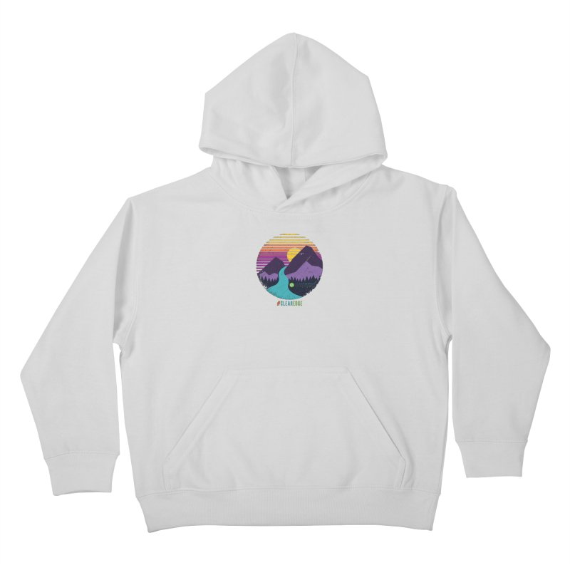You Can Climb Mountains Kids Pullover Hoody by Clearwater Chiropractic Gear