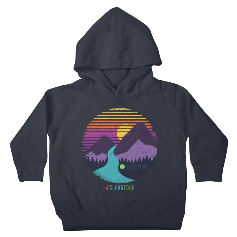 You Can Climb Mountains Kids Toddler Pullover Hoody by Clearwater Chiropractic Gear