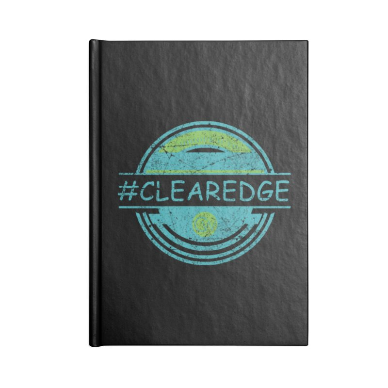 #CLEAREDGE Accessories Blank Journal Notebook by Clearwater Chiropractic Gear