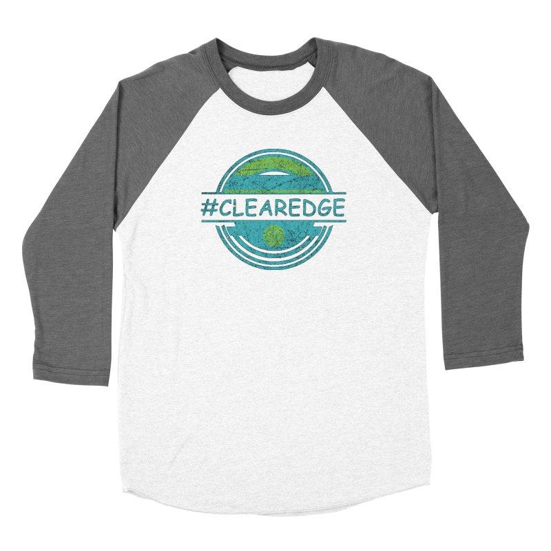 #CLEAREDGE Men's Longsleeve T-Shirt by Clearwater Chiropractic Gear