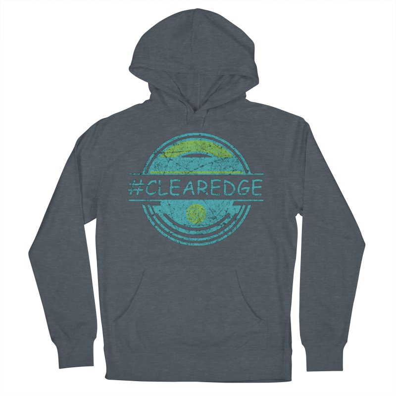 #CLEAREDGE Women's French Terry Pullover Hoody by Clearwater Chiropractic Gear